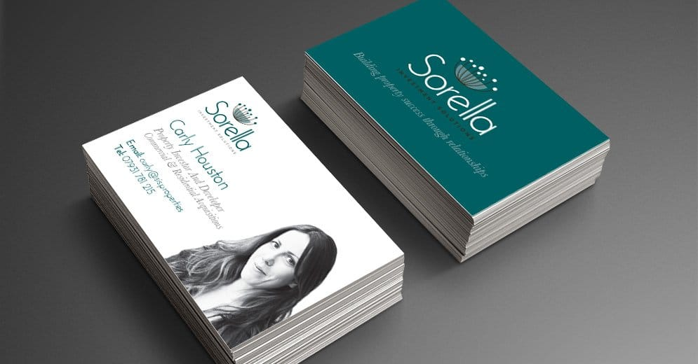 Sorella Investment Solutions Business Card Design