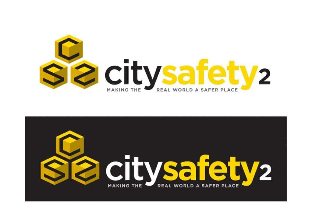 City Safety 2 logo design