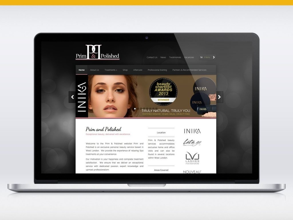 Prim & Polished Website Design