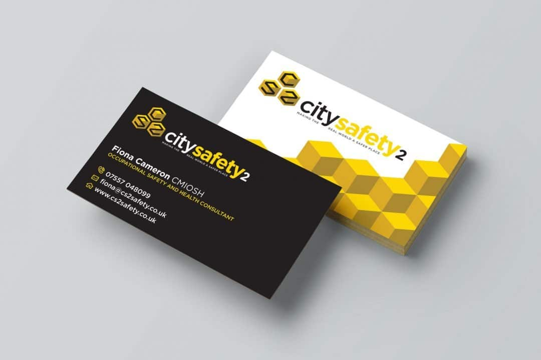 City Safety 2 business card design