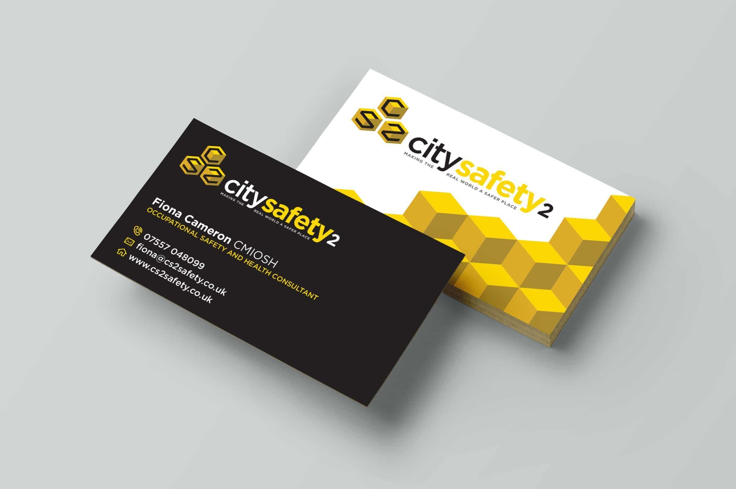 Business card mockup dogfish design city safety 2 business card design colourmoves
